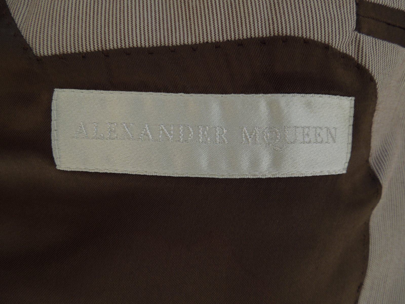Alexander McQueen 2 Button Single Breasted Jacket - The Loft, London