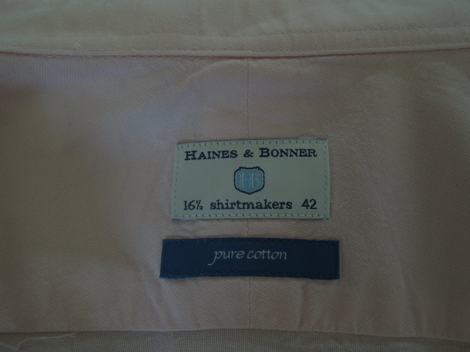 Haines & Bonner { Shirtmakers } - The Loft, London