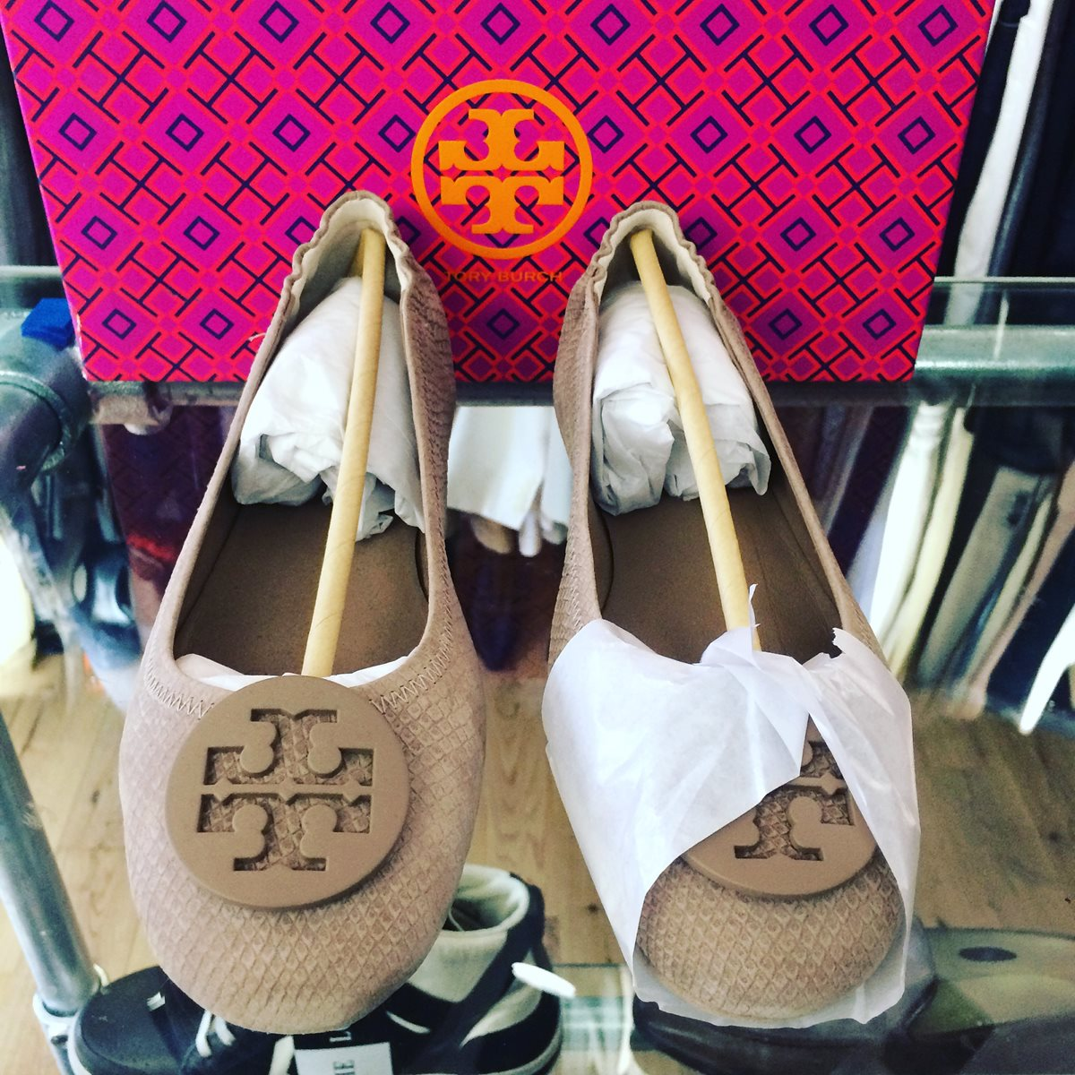Tory Burch Taupe 8.5 - The Loft, London