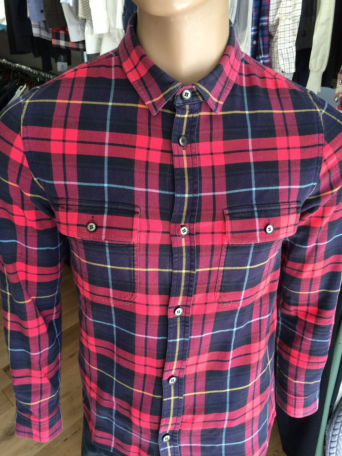 APC  Checked Shirt - The Loft, London